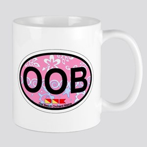 Old Orchard Beach ME - Oval Design. Mug