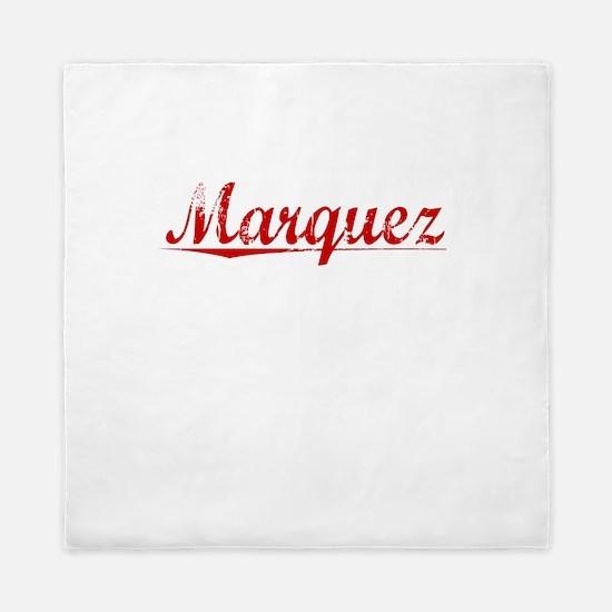 Marquez, Vintage Red Queen Duvet