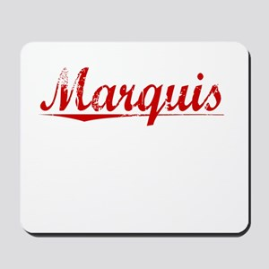 Marquis, Vintage Red Mousepad