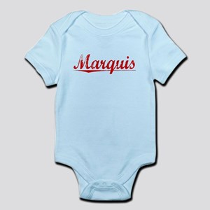 Marquis, Vintage Red Infant Bodysuit