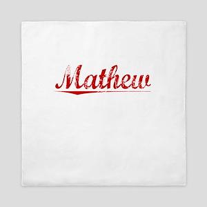 Mathew, Vintage Red Queen Duvet