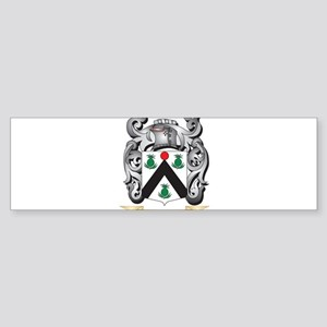 Christal Family Crest - Christal Co Bumper Sticker