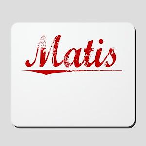 Matis, Vintage Red Mousepad