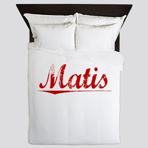Matis, Vintage Red Queen Duvet