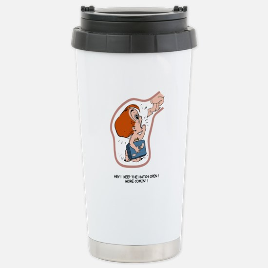 Redhead EGGBERT More Comin' Stainless Steel Travel