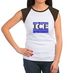 TURN 'EM INTO ICE - Women's Cap Sleeve T-Shirt