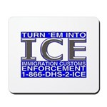 TURN 'EM INTO ICE -  Mousepad