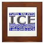TURN 'EM INTO ICE - Framed Tile