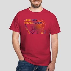 I Survived Frankenstorm Sandy 2012 Dark T-Shirt