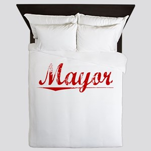 Mayor, Vintage Red Queen Duvet