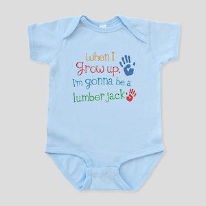 Kids Future Lumber Jack Infant Bodysuit