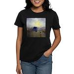 Norham Castle by Turner Women's Dark T-Shirt