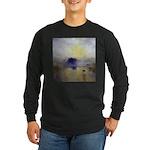 Norham Castle by Turner Long Sleeve Dark T-Shirt