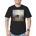 Norham Castle by Turner Men's Fitted T-Shirt (dark