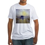 Norham Castle by Turner Fitted T-Shirt