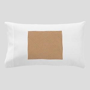 Autumn Houndstooth Pillow Case