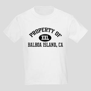 Property of BALBOA ISLAND Kids T-Shirt