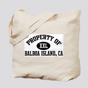 Property of BALBOA ISLAND Tote Bag