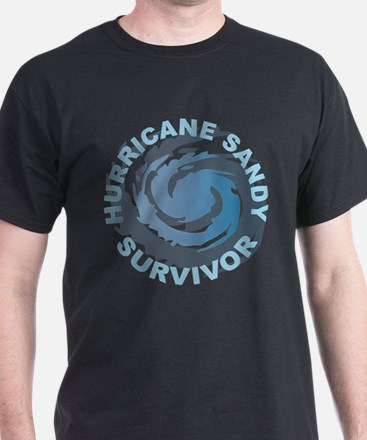 Hurricane Sandy Survivor 2012 T-Shirt