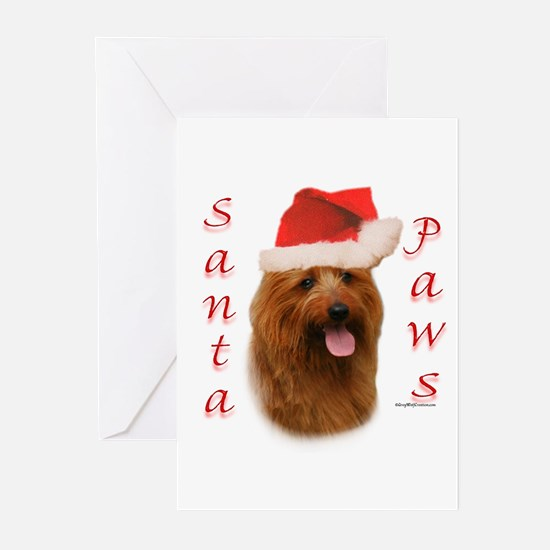 Australian Terrier Paws Greeting Cards (Pk of 10)