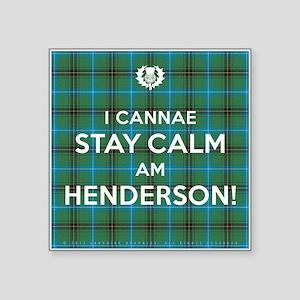 """Henderson Square Sticker 3"""" x 3"""""""