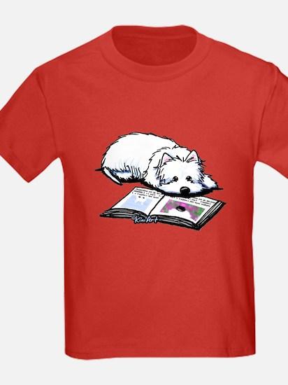 Book Lover Wendell Westie T