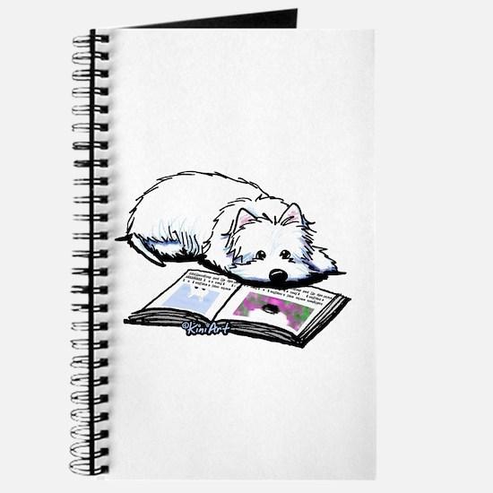 Book Lover Wendell Westie Journal