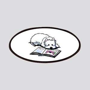 Book Lover Wendell Westie Patches