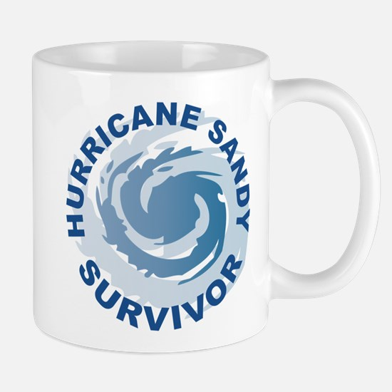 Hurricane Sandy Survivor 2012 Mug