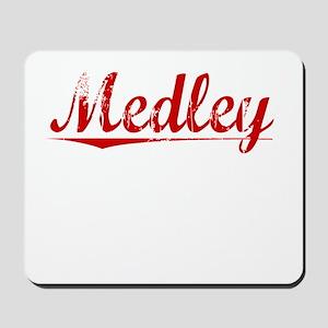 Medley, Vintage Red Mousepad
