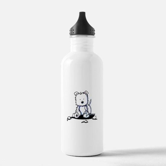 TP Muggles Westie Water Bottle