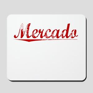 Mercado, Vintage Red Mousepad