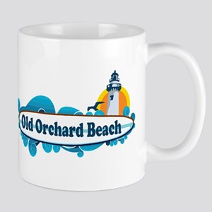 Old Orchard Beach ME - Surf Design. Mug