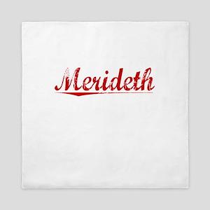 Merideth, Vintage Red Queen Duvet