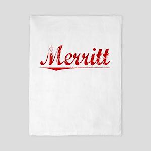 Merritt, Vintage Red Twin Duvet