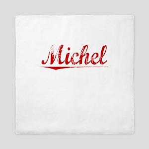 Michel, Vintage Red Queen Duvet