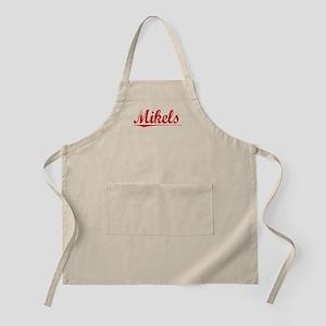 Mikels, Vintage Red Apron