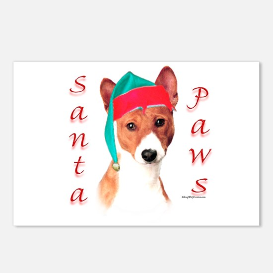 Basenji Paws Postcards (Package of 8)