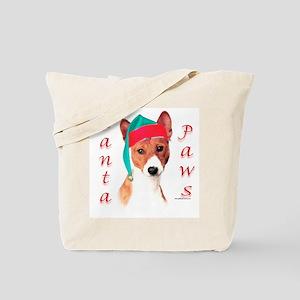 Basenji Paws Tote Bag