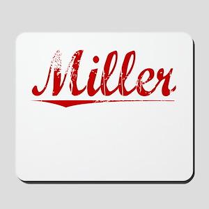 Miller, Vintage Red Mousepad