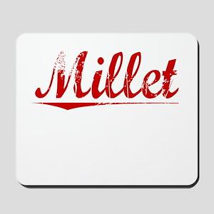 Millet, Vintage Red Mousepad