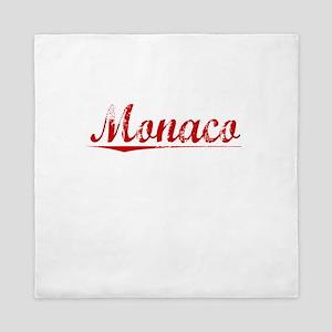 Monaco, Vintage Red Queen Duvet
