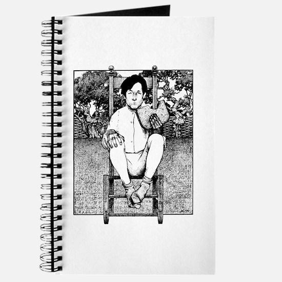 Cute Maxfield parrish Journal