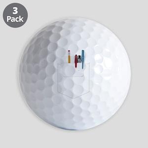 Pocket Protector Golf Balls