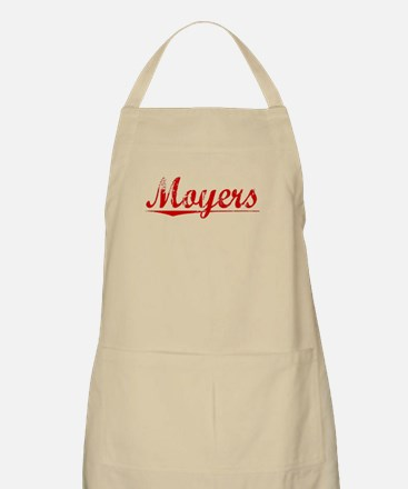 Moyers, Vintage Red Apron