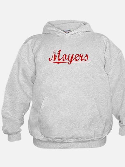 Moyers, Vintage Red Hoodie