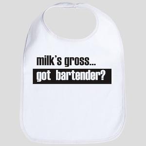 Milk's gross Bib