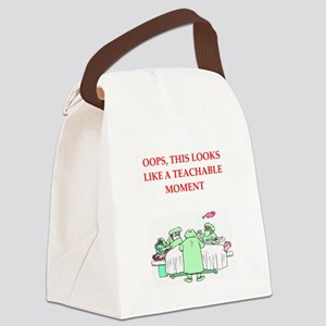 doctor joke Canvas Lunch Bag