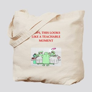 doctor joke Tote Bag