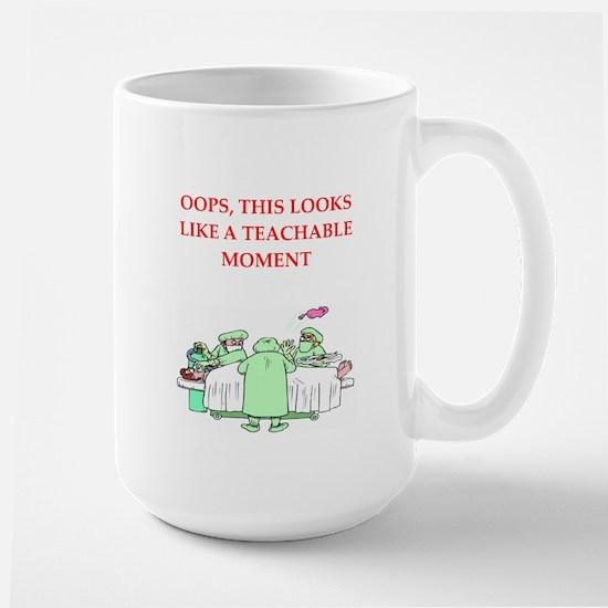 doctor joke Large Mug